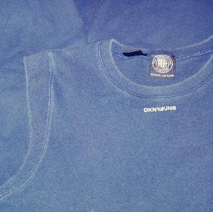 DKNY Sport Logo Sleeveless Dress